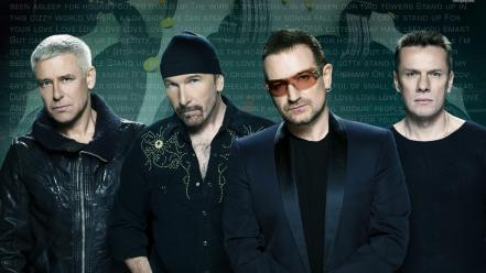 The edge band irish adam clayton stars wallpaper