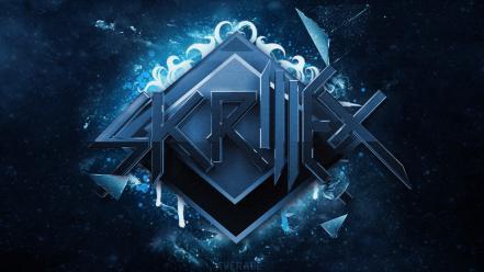 Skrillex Wallpaper Blue