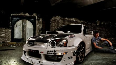 Cars tuning subaru impreza wrx sti wallpaper
