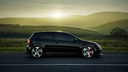 Cars volkswagen golf gti Wallpaper