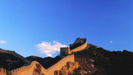 China wall architecture landmark the great wallpaper