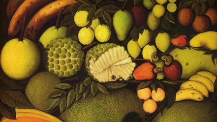 French traditional art still life henri rousseau wallpaper
