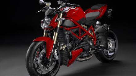Red front motorbikes ducati streetfighter angle Wallpaper