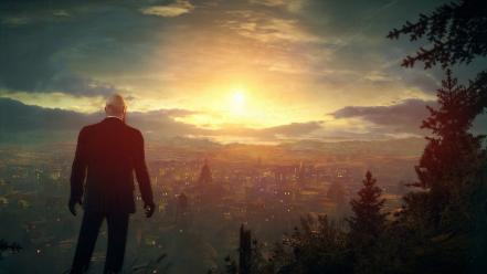 Video games pc hitman absolution agent 47 widescreen wallpaper