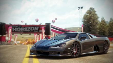 Video games ultimate aero ssc 2010 forza horizon wallpaper