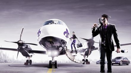Aircraft men saints row row: the third wallpaper