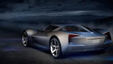 Cars concept art vehicles chevrolet corvette stingray chevrole wallpaper