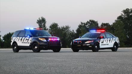 Cars ford vehicles suv police interceptor Wallpaper