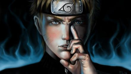 Naruto: shippuden artwork headbands uzumaki naruto jinchuuriki wallpaper