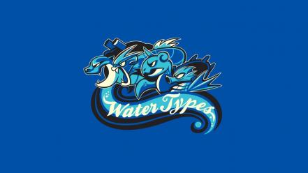 Water pokemon blastoise gyarados wallpaper