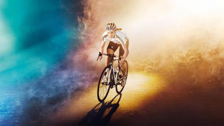 Bicycles sports races wallpaper