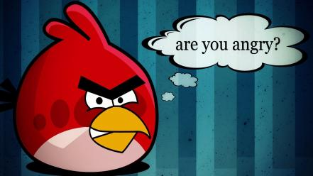 Funny angry birds wallpaper