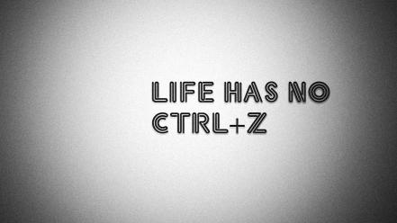 Quotes typography life true story Wallpaper