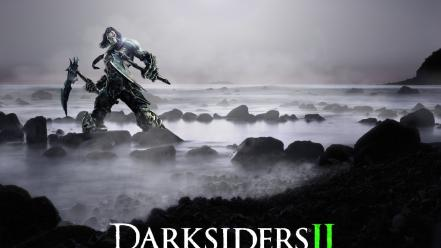 Video games moon mist lakes full darksiders 2 wallpaper