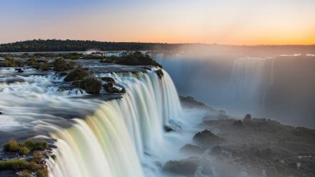 Nature brazil iguazu falls wallpaper