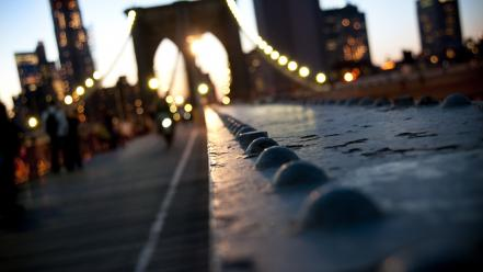 New york city bokeh cities macro photography wallpaper