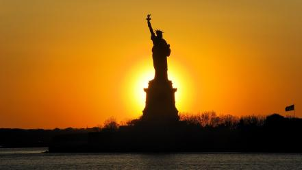 New york city statue of liberty Wallpaper