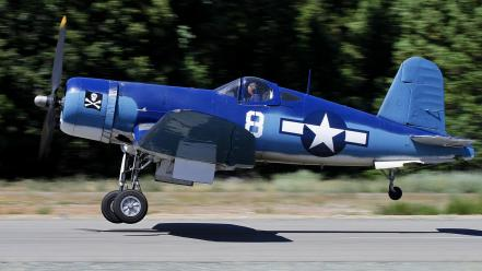 Airplanes warbird chance-vaught corsair Wallpaper