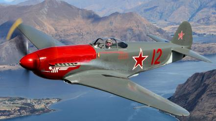 Airplanes warbird yak-3 wallpaper