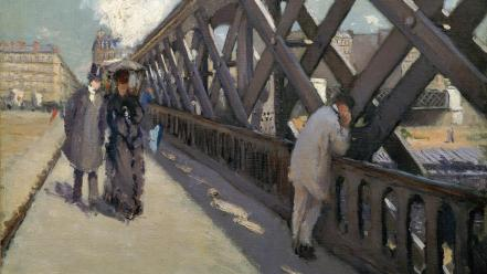 Artwork french traditional art gustave caillebotte impressionism wallpaper