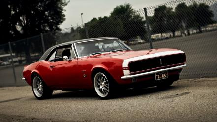 Cars muscle red chevrolet camaro rs american wallpaper