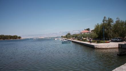 Europe croatia mediterranean sea dalmatia adriatic wallpaper