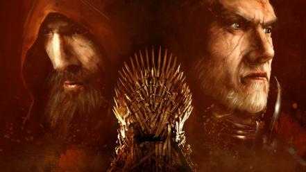 Game of thrones iron throne wallpaper