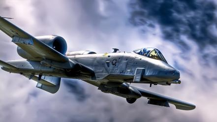 Aircraft military a-10 thunderbolt ii air force usaf wallpaper