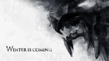 And fire winter is coming house stark wallpaper