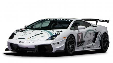 Cars lamborghini vehicles blancpain super trofeo 2009 wallpaper