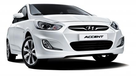 Hyundai solaris accent wallpaper