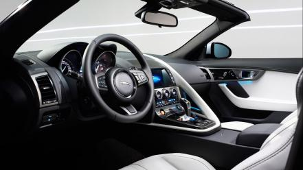 Interior jaguar f type wallpaper