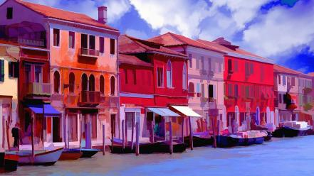 Venice italy colors wallpaper