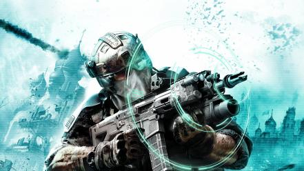 Futuristic weapons technology ghost recon future soldier Wallpaper