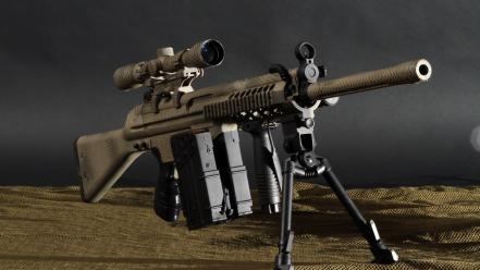 Guns weapons sniper rifles Wallpaper