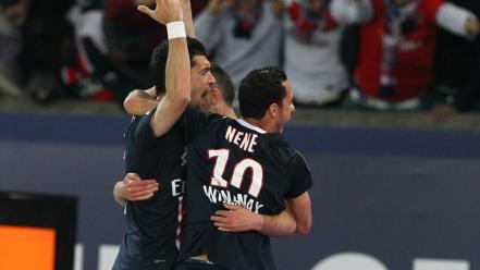 Paris soccer stars nene pastore menez psg saint-germain wallpaper