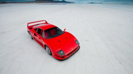 Red cars supercars ferrari f40 wallpaper
