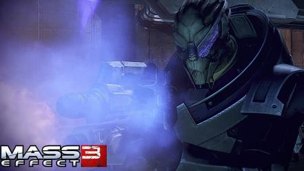 Video games mass effect 3 garrus vakarian alien wallpaper