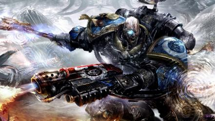 Chaos space marines hate tyranids warhammer 40,000 wallpaper