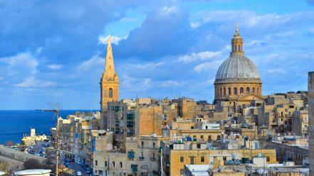 Cityscapes malta Wallpaper