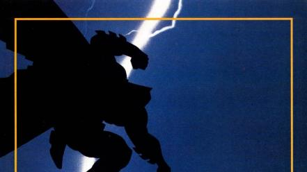 Dark knight returns comic books frank miller Wallpaper