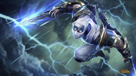 Ninjas league of legends blade zed wallpaper