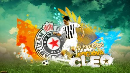 Soccer football player wallpaper