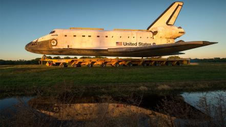 Space shuttle atlantis reflections move kennedy center wallpaper