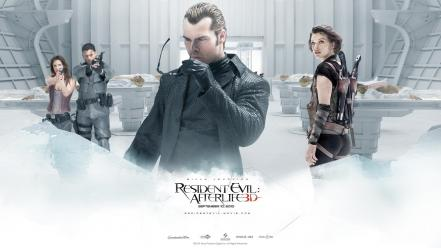 Abstract movies milla jovovich resident evil afterlife Wallpaper