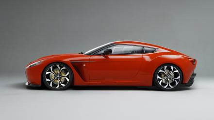 Cars aston martin v12 zagato side wallpaper