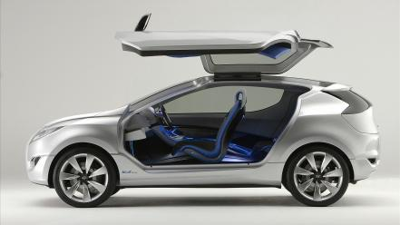 Cars concept art vehicles hyundai 2009 nuvis wallpaper