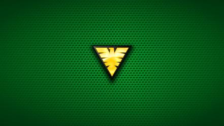 Grey marvel comics logos green background symbols Wallpaper