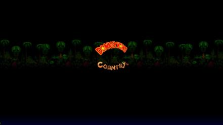 Video games donkey kong retro country wallpaper