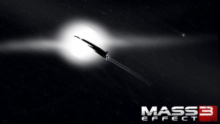 Video games normandy mass effect 3 space ships Wallpaper